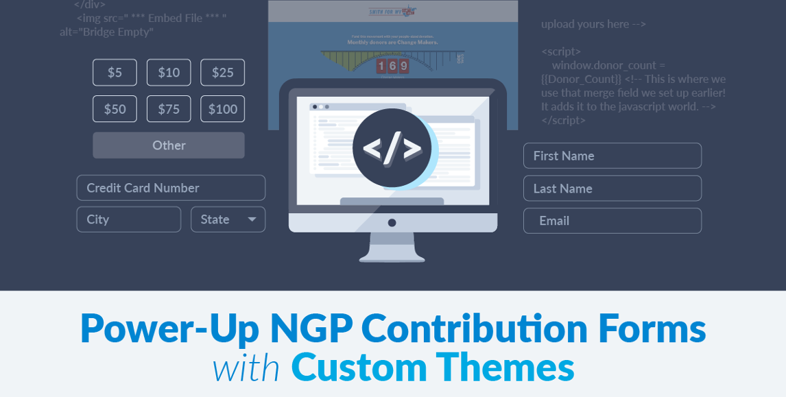 Power-up NGP Contribution Forms with Custom Themes